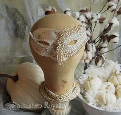 Tarnished Royalty: GIRLS WANT PEARLS: Whos Behind The Mask?