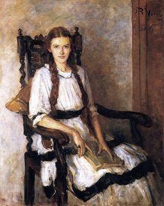 Mary Lapsley Caughey, 1916 ~ John Butler Yeats ~ (Irish: 1839-1922)