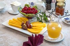 Pequeno Almoço, Fruta Fresca