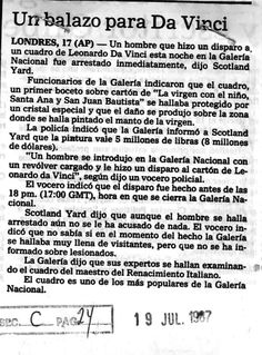 Publicado el 19 de julio de 1987.