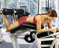 Программа тренировки в тренажерном зале для женщин №1