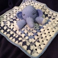 Cute elephant lovey