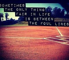 ...between the foul lines