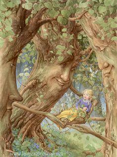 Джеймс Браун - известный американский художник-иллюстратор. Его девиз - Если Бог дал мне дар, то я должен использовать его для Бога. сайт автора