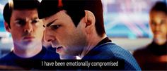 spock. after I read a good book.