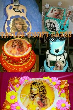 Cute Taylor  Swift Cakes