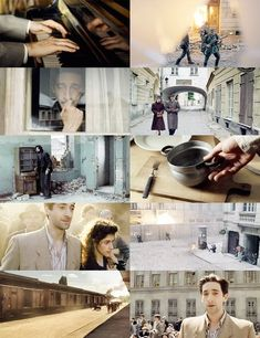 The Pianist // imo, this movie was harder to watch than The Boy In the Striped Pajamas.