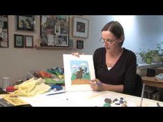 Making Plasticine Pictures. Part 2 Barbara Reid makes a mouse. Grade 1 Art, Grade 2, Plasticine, Author Studies, Art N Craft, First Art, Inspiration For Kids, Polymer Clay Art, Art Classroom