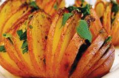 Wachlarze z grillowanych ziemniaków - Najlepsze przepisy na dania i potrawy z grilla, na grilla. Wszystko o grillowaniu.