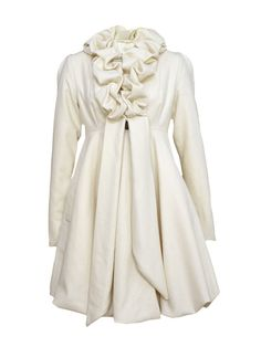 Fabulous Ruffle Coats | ❤ BLOGILATES ❤