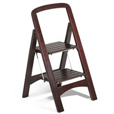 The Container Store > 2-Step Wooden Stool