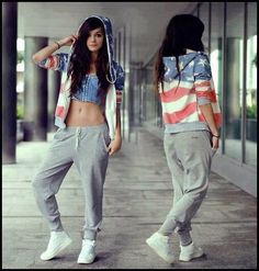 Hip hop style. Isn't it cool