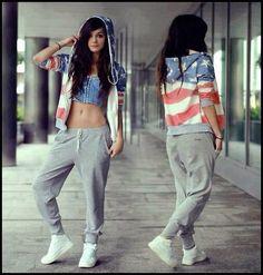 Hip hop style. Isn't it cool