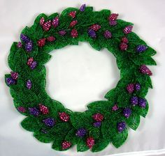 Beaded Flowers At Beaded Garden - Gorgeous!  Wonder how long it would take to duplicate?