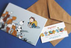 Greeting Cards - Shop.lingvistov.com Funny #funny, #illustrations, #doodles, #joke, #humor, #cartoon, #cute, #comics, #print, #gifts, #cats
