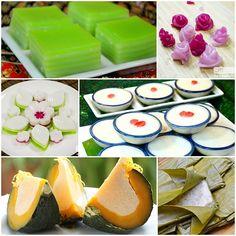 15 สูตรขนมไทยยอดนิยม