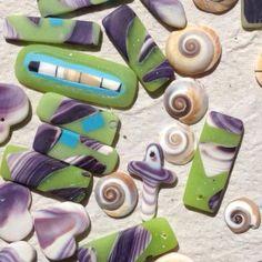 Joanie LaLacheur's Wampum Jewelry and Mosaic Tiles Martha's Vineyard, Ma.