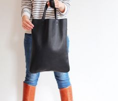 Everyday Leather Tote - perfect for everyday