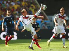 Francia- Germania, Hoewedes in azione, #Mondiali2014, #Brasil2014