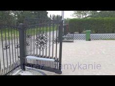 """Automatic Gate - Brama harmonijkowa  ,, składana """" z automatyką KEY REVO  Poznań - YouTube"""