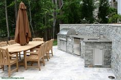 We specialize in outdoor living spaces. From custom landscaping to infinity pool design, we aim to please. Kitchen Contractors, Peachtree City, Custom Pools, Pool Builders, Patio Bar, Outdoor Furniture Sets, Outdoor Decor, Pool Designs, Water Features