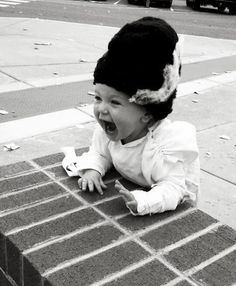 Baby Bride of Frankenstein. This is the cutest thing I have ever seen!!