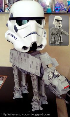 Steve's Toy Room: My Own Stormtrooper AT-AT Walker Happy Meal