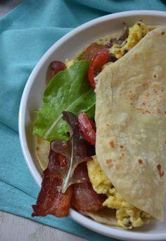 Taco Tuesday: BLT Breakfast Tacos - Mountain Mama Cooks