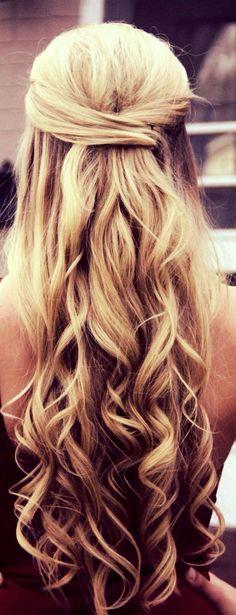 Half up half down hairstyles (70)