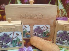 Bread wooden box!