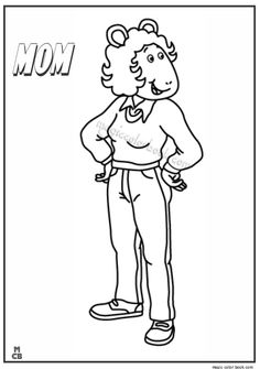 19 Best Arthur Coloring Pages images