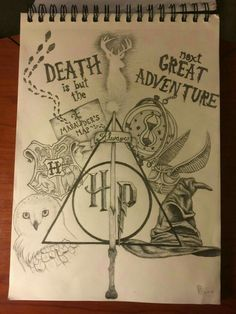 Awesome Harry Potter drawing!