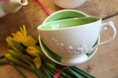 #AlisonAppleton #Woodland #Teacups #Flower #Spring #Fresh #Easter #Ceramics #Tea #Flowers