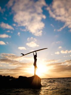 Let surf ladies. There is nothing better than a beautiful surf at dusk or dawn.