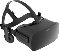 Oculus - Rift Headset for Compatible Windows PCs - Black, 301-00200-03
