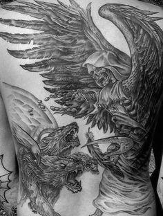 Hades Tattoo, Tattoo Designs, Tattoo Ideas, Cerberus, Tattoos, Abstract, Artwork, Fashion, Greek Monsters