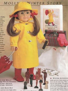 American Girl Molly - Winter