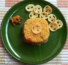 Famous Indian Recipes - tomato rice recipe is a quick and delicious recipe also known as Thakkali sadam, Tomato Bath, simple tomato rice recipe, veg recipes