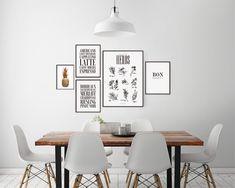 Inspiración para las decoraciones de pared y el collage con cuadros | Cuelga cuadros