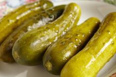 This easy recipe for Polish dill pickles is known as ogorki kiszone.
