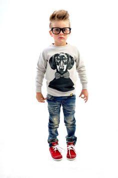 Hugo jumper and Nico jeans | Rock Your Kid winter 2014 | www.rockyourbaby.com