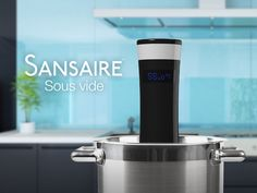 Cooking food sous vide gives you unbelievably tasty results. Sansaire Sous Vide <3