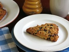 Almond Flour Chocolate Chip Scones - Perfect for Mother's Day!