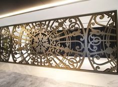 Laser cut screens and Laser cut panels - Miles and Lincoln Laser Cut Screens, Laser Cut Panels, Laser Cut Metal, Laser Cutting, Decorative Screen Panels, Pinterest Home Decor Ideas, Stair Railing Design, Wood Burning Art, Layers Design