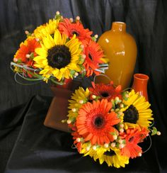 Fall bouquets by Botanica Creations