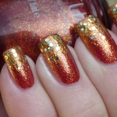 beautiful gold and rose gradient