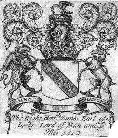 Ex Libris of James Stanley, 10th Earl of Derby