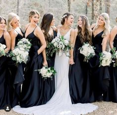 Smile, it's the weekend! Grab your girls and come celebrate with us!💕 Designer Bridesmaid Dresses, Designer Dresses, Wedding Dresses, Mori Lee Bridesmaid, Bridesmaids, Party Needs, Your Girl, Ruffles, Amanda