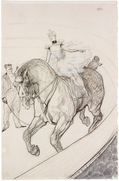 Toulouse Lautrec. One of all my all time fave artists - he's pure genius.
