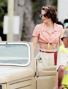 kristen stewart and cafe society image